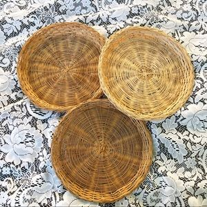 Bamboo Plate Holders
